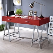 ACME Furniture Coleen Writing Desk; Red