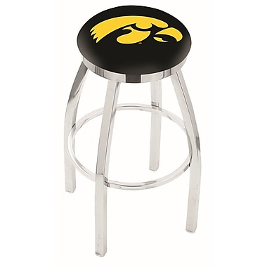 Holland Bar Stool NCAA 30'' Swivel Bar Stool; Iowa