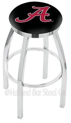 Holland Bar Stool NCAA 25'' Swivel Bar Stool; Ferris State