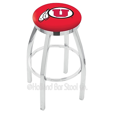 Holland Bar Stool NCAA 30'' Swivel Bar Stool; Utah