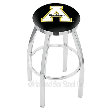 Holland Bar Stool NCAA 25'' Swivel Bar Stool; Appalachian State