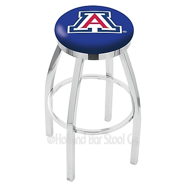 Holland Bar Stool NCAA 25'' Swivel Bar Stool; Arizona
