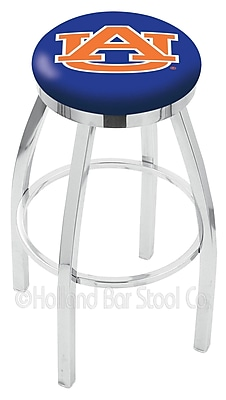 Holland Bar Stool NCAA 25'' Swivel Bar Stool; Auburn
