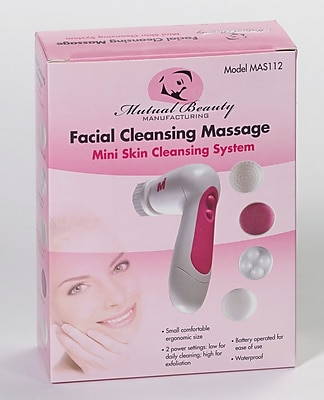 Bilt-Rite Mutual, Facial Cleansing Massager, 3 pack (MAS112-3)