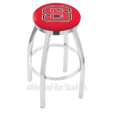 Holland Bar Stool NCAA 30'' Swivel Bar Stool; North Carolina State