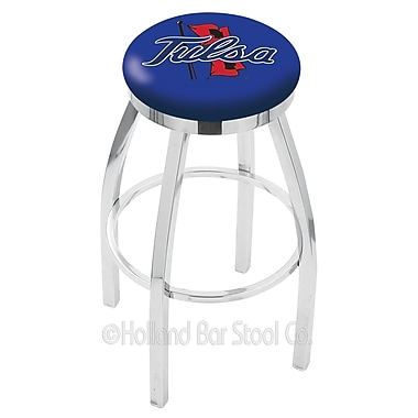 Holland Bar Stool NCAA 30'' Swivel Bar Stool; Tulsa