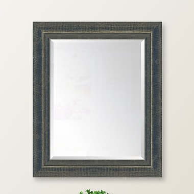 Melissa Van Hise Indigo Large and Indigo Wall Mirror; 48'' H x 32'' W x 1'' D