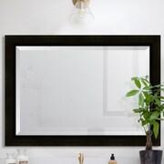 Melissa Van Hise Sumatra Resin Frame Wall Mirror; 42'' H x 30'' W x 1.25'' D
