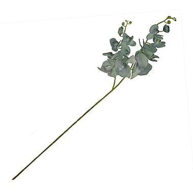 Aleko Artificial 2 Branches Orchid Flower; Light Green
