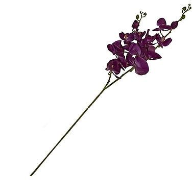 Aleko Artificial 2 Branches Orchid Flower; Purple