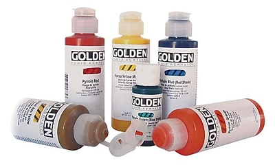 Golden Artist Colors 4 Oz Heavy Body Interference Color Acrylic Paint; Pearl Mica Flake(Small)