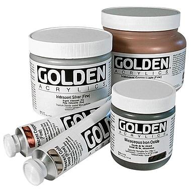 Golden Artist Colors 4 Oz Historical Fluid Acrylic Hues Paint; Sap Green Hue