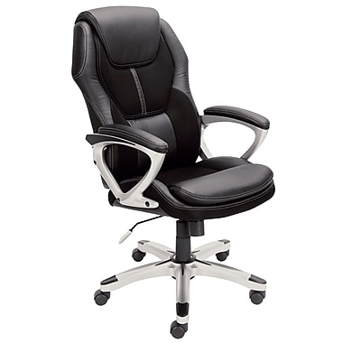 Serta at Home Martin Executive Chair; Black