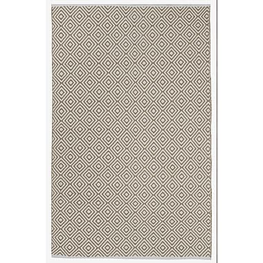 Varick Gallery Criswell Khaki Area Rug; 6' x 9'