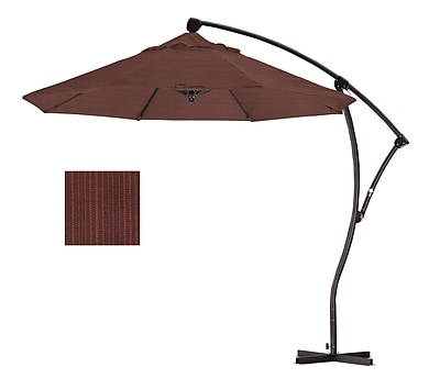 California Umbrella 9' Cantilever Umbrella; Terrace Adobe WYF078276994063