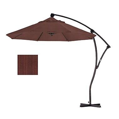 California Umbrella 9' Cantilever Umbrella; Terrace Adobe