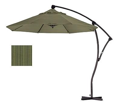 California Umbrella 9' Cantilever Umbrella; Terrace Fern WYF078276994087