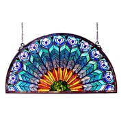 Astoria Grand Peacock Window Panel