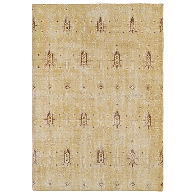 Bungalow Rose Koh Gold Area Rug; 2' x 3'