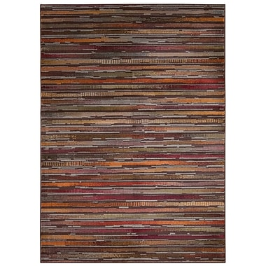 Loon Peak Fitch Multicolor Area Rug; Round 5'3'' x 5'3''