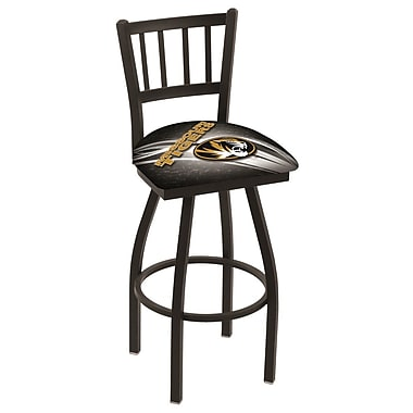 Holland Bar Stool NCAA 30'' Swivel Bar Stool; Missouri