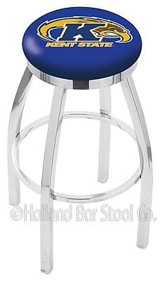 Holland Bar Stool NCAA 25'' Swivel Bar Stool; Kent State