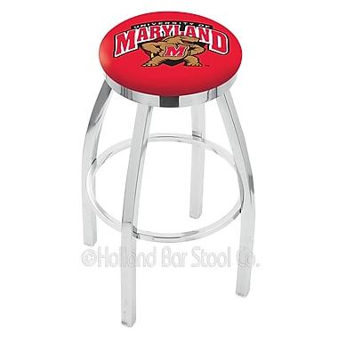 Holland Bar Stool NCAA 25'' Swivel Bar Stool; Maryland