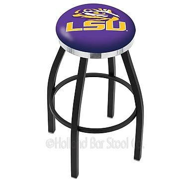 Holland Bar Stool NCAA 36'' Swivel Bar Stool; Louisiana State