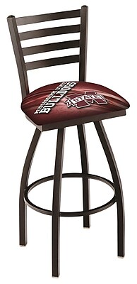 Holland Bar Stool NCAA 30'' Swivel Bar Stool; Mississippi State