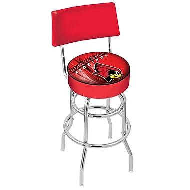 Holland Bar Stool NCAA 25'' Swivel Bar Stool; Illinois State