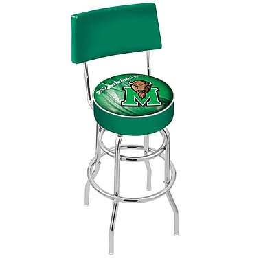 Holland Bar Stool NCAA 25'' Swivel Bar Stool; Marshall