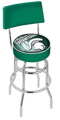 Holland Bar Stool NCAA 25'' Swivel Bar Stool; Michigan State