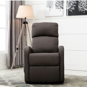 Madison Home USA Classic Plush Power Large Infinite Position Lift Chair; Dark Gray