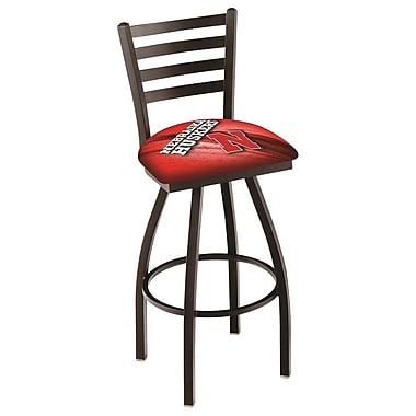 Holland Bar Stool NCAA 30'' Swivel Bar Stool; Nebraska