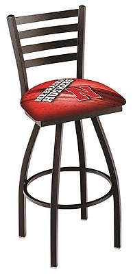 Holland Bar Stool NCAA 25'' Swivel Bar Stool; Nebraska