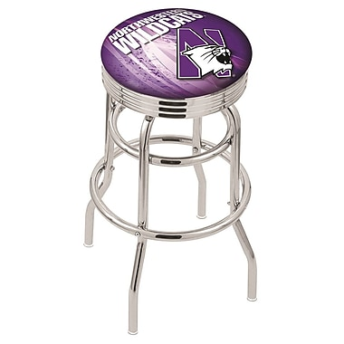 Holland Bar Stool NCAA 30'' Swivel Bar Stool; Northwestern