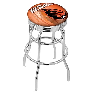 Holland Bar Stool NCAA 30'' Swivel Bar Stool; Oregon State