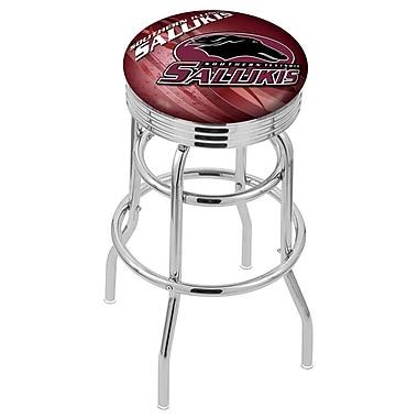 Holland Bar Stool NCAA 30'' Swivel Bar Stool; Southern Illinois