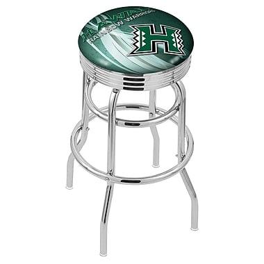 Holland Bar Stool NCAA 25'' Swivel Bar Stool; Hawaii