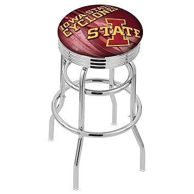 Holland Bar Stool NCAA 25'' Swivel Bar Stool; Iowa State