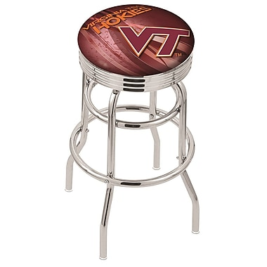 Holland Bar Stool NCAA 25'' Swivel Bar Stool; Virginia Tech