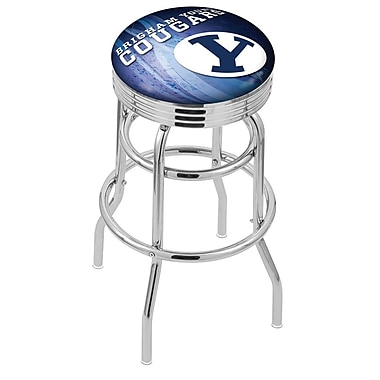 Holland Bar Stool NCAA 30'' Swivel Bar Stool; Brigham Young