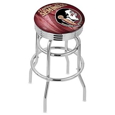 Holland Bar Stool NCAA 25'' Swivel Bar Stool; Florida State - ''Head''