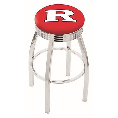 Holland Bar Stool NCAA 30'' Swivel Bar Stool; Rutgers