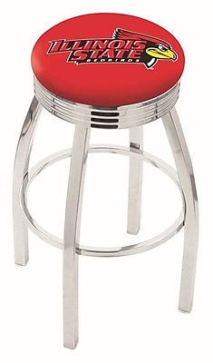 Holland Bar Stool NCAA 30'' Swivel Bar Stool; Illinois State
