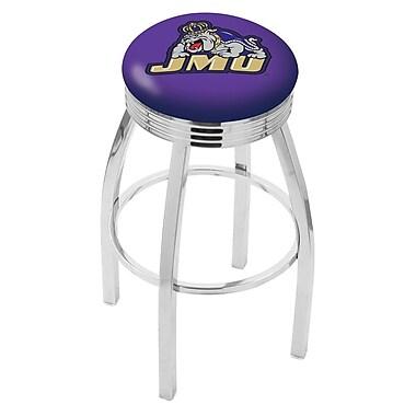 Holland Bar Stool NCAA 30'' Swivel Bar Stool; James Madison