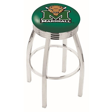 Holland Bar Stool NCAA 25'' Swivel Bar Stool; Marshall