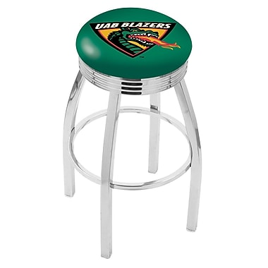 Holland Bar Stool NCAA 25'' Swivel Bar Stool; UAB
