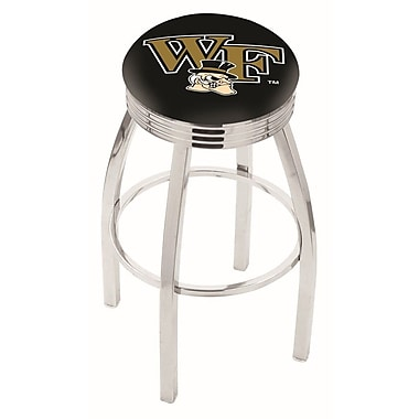 Holland Bar Stool NCAA 25'' Swivel Bar Stool; Wake Forest
