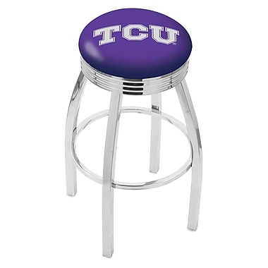 Holland Bar Stool NCAA 25'' Swivel Bar Stool; TCU